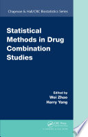 Statistical Methods in Drug Combination Studies