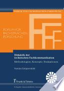 Didaktik der technischen Fachkommunikation