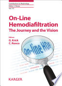On Line Hemodiafiltration  The Journey and the Vision