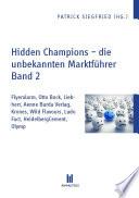 Hidden Champions - die unbekannten Marktführer -