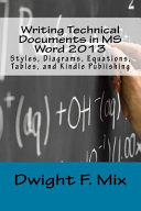 Writing Technical Documents in MS Word 2013