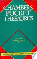 Chambers English Thesaurus