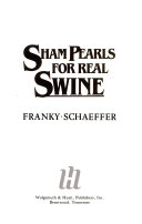 Sham Pearls For Real Swine