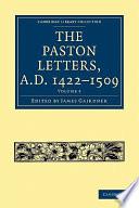 The Paston Letters  A D  1422 1509