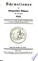 Schematismus des Königreichs Böhmen