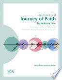 Leader S Guide For Journey Of Faith For Ordinary Time