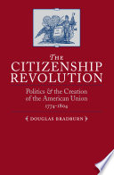Book The Citizenship Revolution
