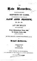 download ebook the law recorder pdf epub