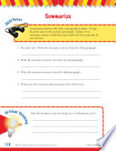 Read   Succeed Comprehension Level 4  Summarizing Passages and Questions