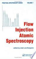 Flow Injection Atomic Spectroscopy