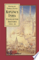 Kipling   s India  Uncollected Sketches 1884   88