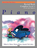 Alfred s Basic Piano Course Recital Book  Complete 1  1a 1b