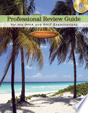 Professional Review Guide for the RHIA and RHIT Examinations  2009 Edition