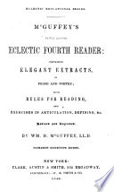 Mcguffey S Newly Revised Eclectic Fourth Reader