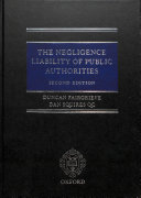 The Negligence Liability of Public Authorities