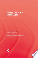 Jewish Life In The Middle Ages book