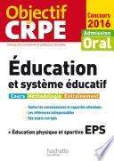 Objectif CRPE   ducation et syst  me   ducatif   2016