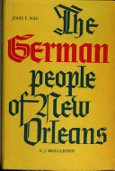 The German people of New Orleans, 1650-1900
