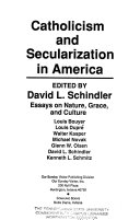 Catholicism And Secularization In America