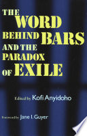 download ebook the word behind bars and the paradox of exile pdf epub