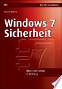 Windows 7 Sicherheit