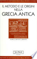 Trattato di metodologia della ricerca storica  Il metodo e le origini nella Grecia antica