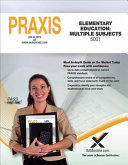 2017 Praxis Elementary Education  Multiple Subjects  5001