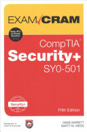 Comptia Security+ Sy0-501 Exam Cram