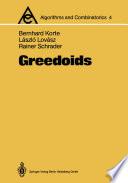Greedoids book