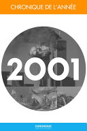 Chronique de l ann  e 2001
