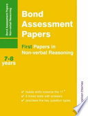 First Papers in Non Verbal Reasoning 7 8 Years