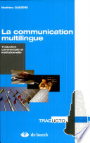 illustration du livre La communication multilingue