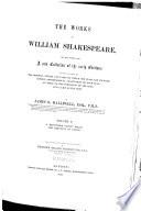 The Works of William Shakespeare  Midsummer night s dream  Merchant of Venice  1856