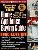 Home Appliance Buying Guide 1996 Edition