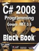 C  2008 Programming  Covers  Net 3 5 Black Book  Platinum Ed