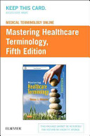 Medical Terminology Online For Mastering Healthcare Terminology Retail Access Card