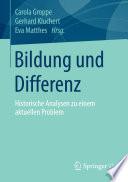 Bildung und Differenz