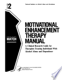 Motivational Enhancement Therapy Manual