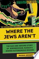 Book Where the Jews Aren t