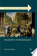 Philosophy of Epidemiology