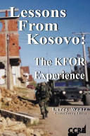 Lessons From Kosovo