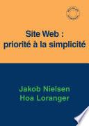 illustration Site Web : priorité à la simplicité