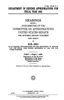 Department of Defense Appropriations for Fiscal Year 1992  Department of the Air Force
