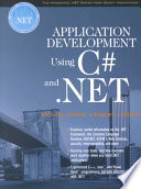 Application Development Using C  and  NET