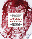 Personalized Computational Hemodynamics Book Cover