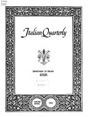 Italian Quarterly