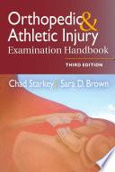Orthopedic Athletic Injury Examination Handbook