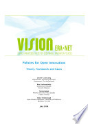 Policies for Open Innovation  Theory  Framework and Cases