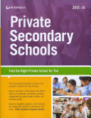 Private Secondary Schools 2013 14