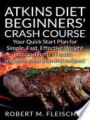 Atkins Diet Beginners Crash Course